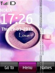 Love Morning Mug theme screenshot