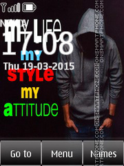 My Life 02 tema screenshot