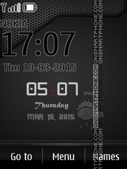 iPhone Design 01 tema screenshot