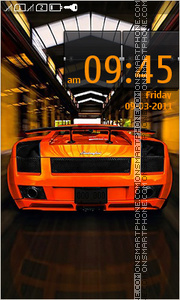 Lamborghini 24 theme screenshot
