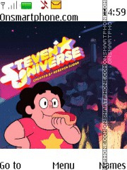 Steven Universe theme screenshot