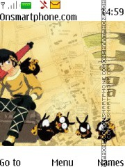 Ranma Ryoga theme screenshot