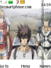 Saint Seiya Lost Canvas theme screenshot
