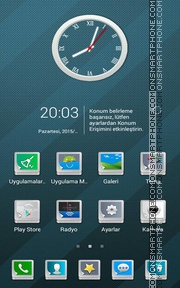 Abstract v2 tema screenshot
