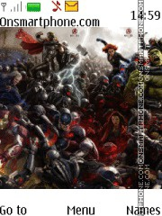 Avenger Age of Ultron Theme-Screenshot