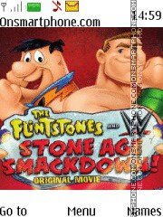 WWE & The Flintstones theme screenshot