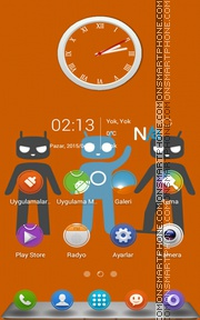 Cyanogen theme screenshot