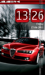 Alfa Romeo tema screenshot