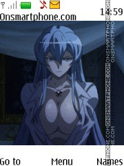 Esdeath Hot theme screenshot