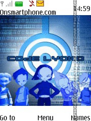 Code Lyoko theme screenshot