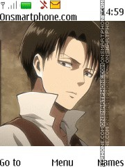 Attack on Titan Levi theme screenshot