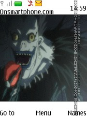 Ryuk Death Note tema screenshot