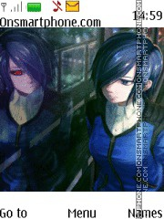 Touka Kirishima theme screenshot