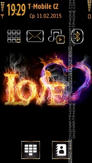 Love 03 tema screenshot
