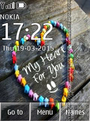 My heart 4 You tema screenshot