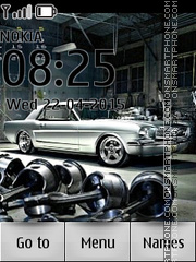 Mustang Classic Car tema screenshot