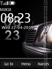 Mercedes 3266 theme screenshot