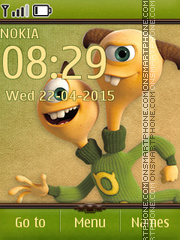 TerriTerryPerry theme screenshot
