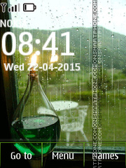 Rain Animated 01 Theme-Screenshot