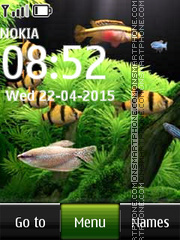 Fish Aquarium theme screenshot