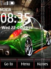 Opel Corsa 02 theme screenshot