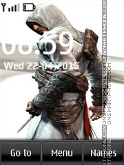 AssassinS Creed Uni theme screenshot