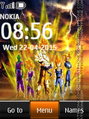 Dragon Ball Z 05 theme screenshot