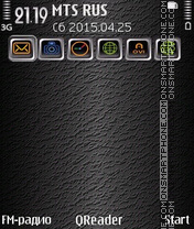 In-Grey theme screenshot