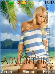 Sea Adventures theme screenshot