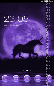 Unicorn tema screenshot