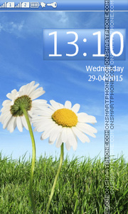Two Chamomile theme screenshot