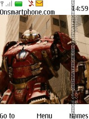 Avengers Hulkbuster Theme-Screenshot