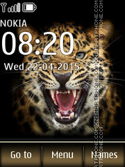 Leopard 07 theme screenshot