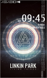 Linkin Park 14 theme screenshot