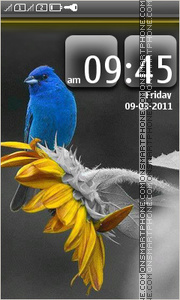 Blue Bird 02 tema screenshot
