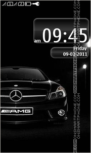 Mercedes 3267 theme screenshot