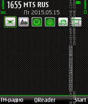 Green Style theme screenshot