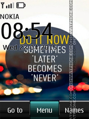 Do it Now tema screenshot