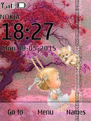 Kid 02 tema screenshot