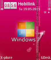 Window 7M theme screenshot