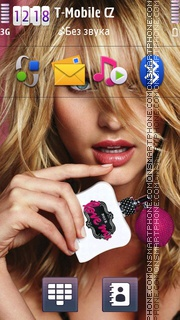 Candice Swanepoel 02 theme screenshot