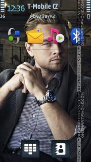 Leonardo DiCaprio 01 tema screenshot