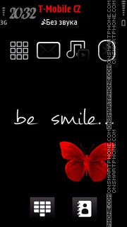 Be Smile theme screenshot