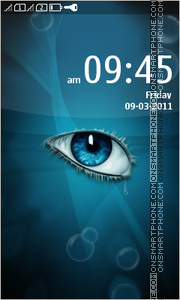 Eye Abstract tema screenshot
