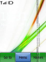 Vista Abstract theme screenshot