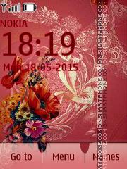 Art Flora theme screenshot