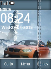 Need for Speed 15 es el tema de pantalla