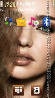 Miranda Kerr 01 tema screenshot