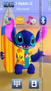 Stitch tema screenshot