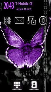 Butterfly 40 tema screenshot
